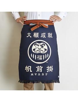 """""""MAEKAKE"""" - Grembiule Giapponese Daruma - Maekake Apron - Made In Japan"""