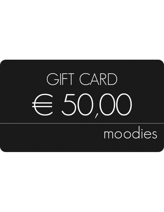 Gift Card Moodies euro 50