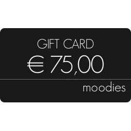 Gift Card Moodies euro 75