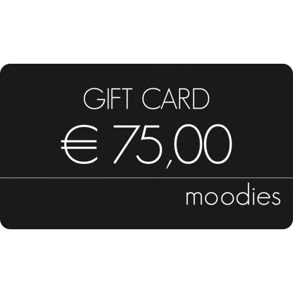 Gift Card Moodies euro 75