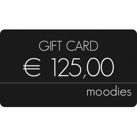 Gift Card Moodies € 125,00
