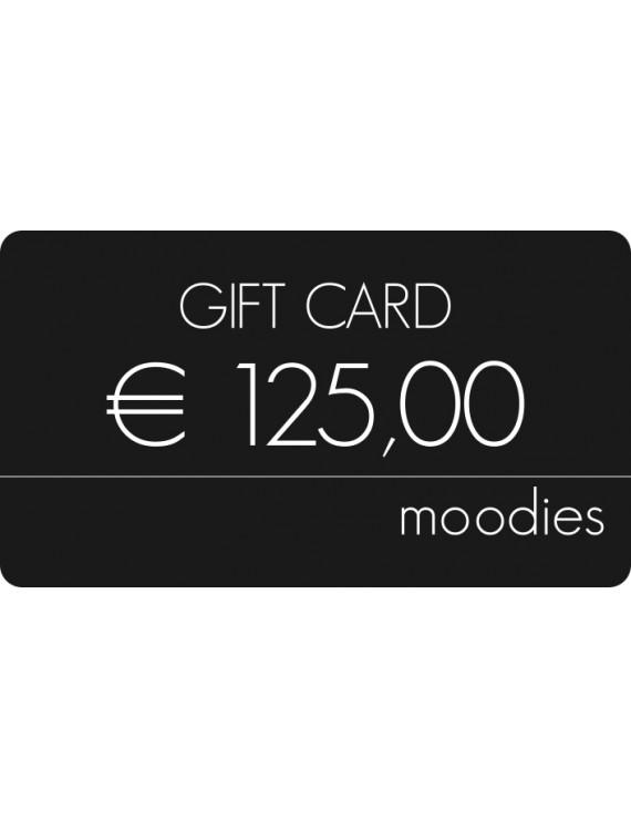 Gift Card Moodies € 125,00