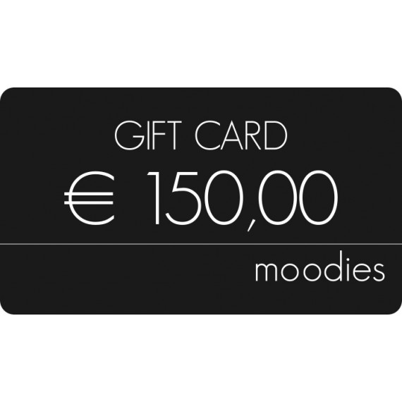 Gift Card Moodies euro 150