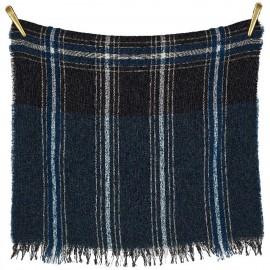 Sciarpa di lana e modal con stampa a quadri - Check It Out
