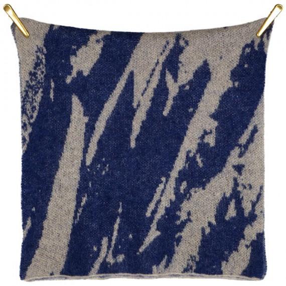 Sciarpa di lana Kid Mohair e lana con stampa Floreale - Soft Touch