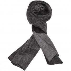Sciarpa di lana Kid Mohair e lana con stampa Geometrica - Zig Zag