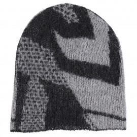 Cappello di lana Kid Mohair e lana con stampa Geometrica - Zig Zag