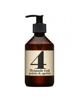 Sapone biologico liquido 300 ml - N° 4 Gelsomino & Arancio