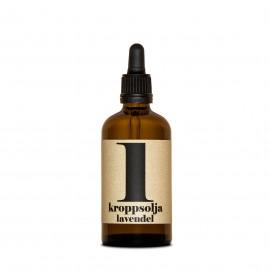 Olio da Massaggi e corpo - N 1 Lavanda
